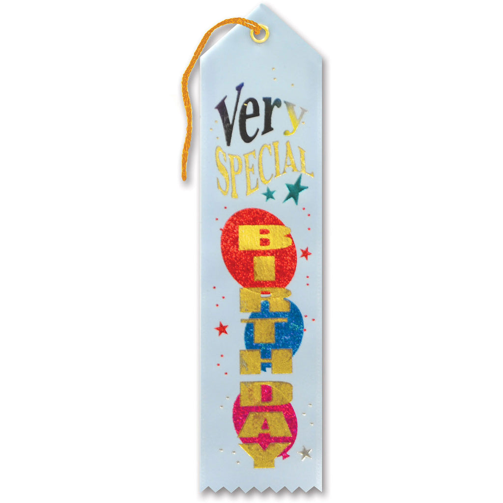 Very Special Birthday Award Ribbon