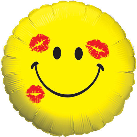 "18"" Smiley Kiss Yellow"