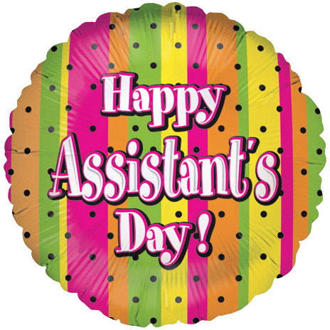 "18"" Assistant's Day Spots"