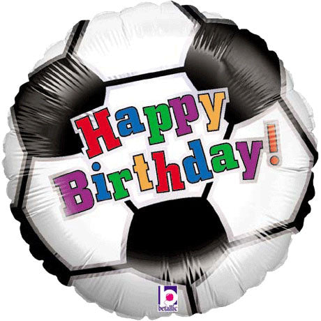 "18"" Soccer Ball Birthday"