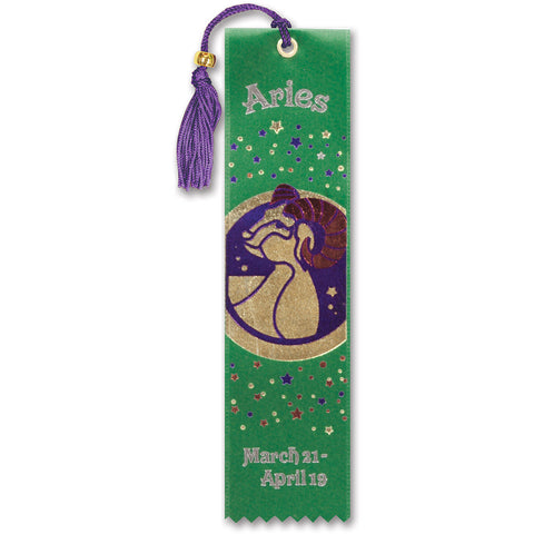 Aries Bookmark Ribbon