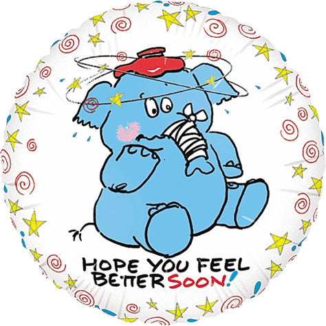 "18"" Feel Better Elephant"