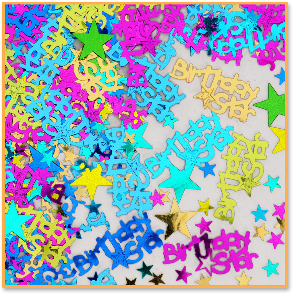 Birthday Star Confetti