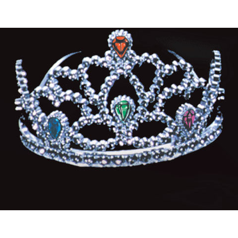 Tiara w/4 Jewels