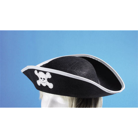 Felt Pirate Hat Adult