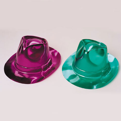Metallic Fedoras
