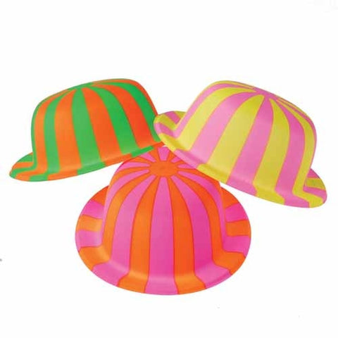 Striped Derby Hats