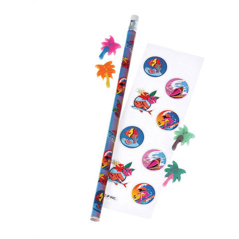 Luau Stationary Set