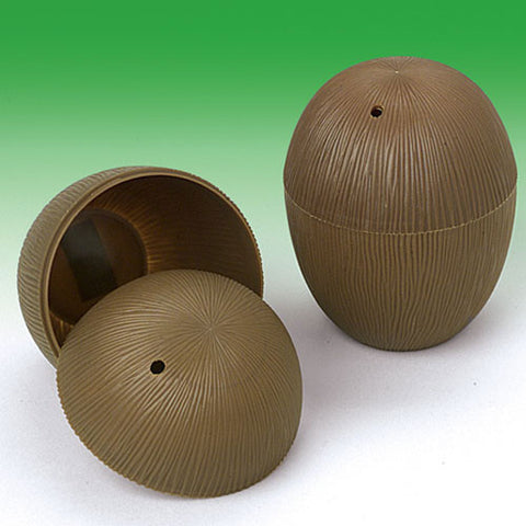 Plastic Coconut Cups (1ct)