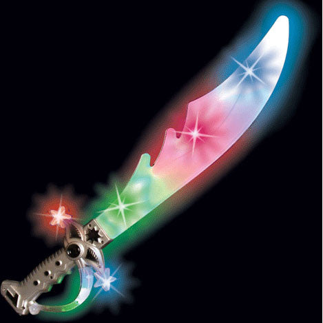"23"" Led Pirate Sword"
