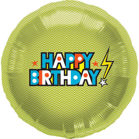 "18"" Happy Birthday Bolt"