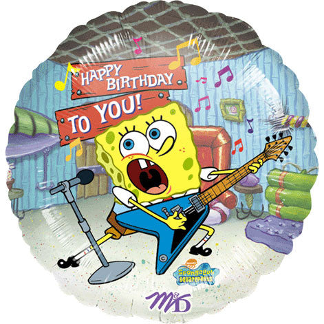 "18"" Spongebob Birthday To You (1ct)"