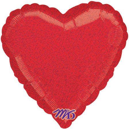 "18"" Red Dazzler Heart"