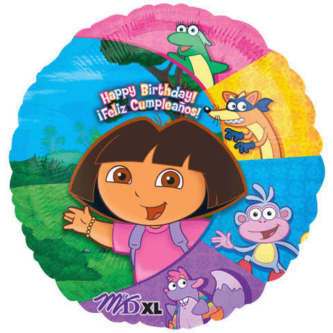 "18"" Dora & Friends Birthday"