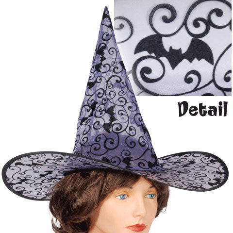 Black Bat Witch Hat