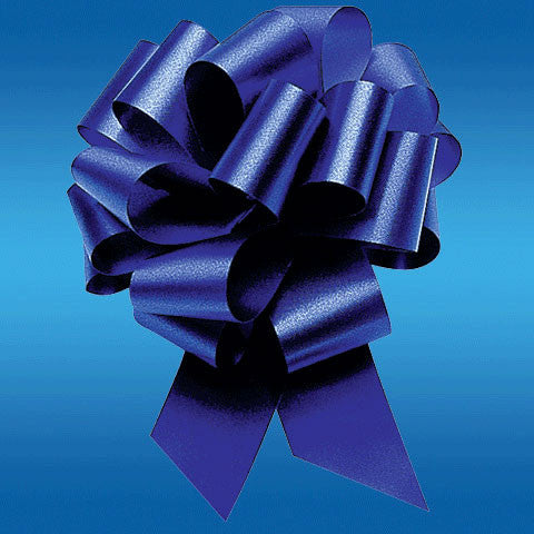 #9 Royal Blue Perfect Bow (1 ct)