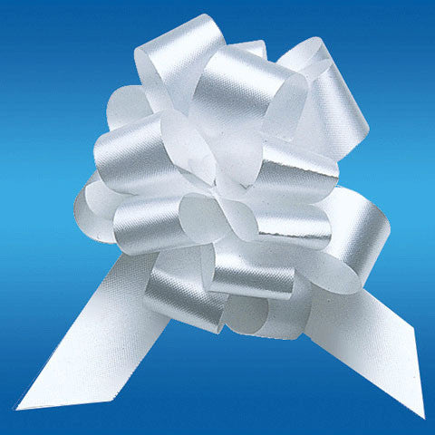 #40 White Perfect Bow