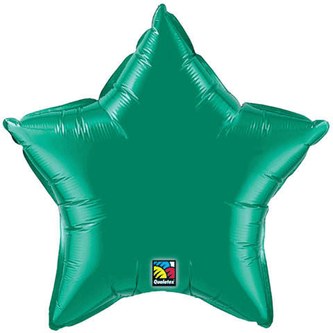 "20"" Emerald Star Foil Balloon"