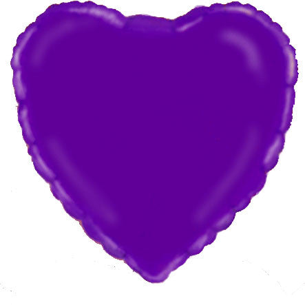 "18"" Purple Heart Foil Balloon"