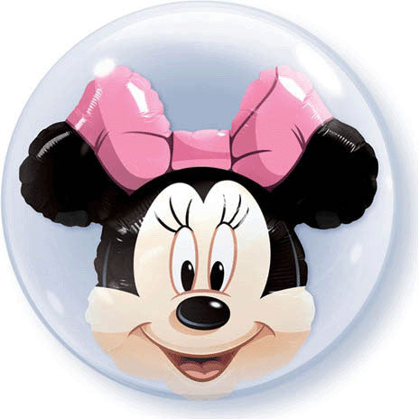 "24"" Minnie Mouse Bubble Balloon"