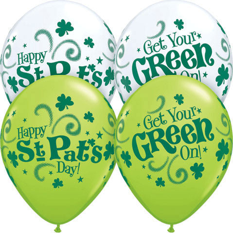 "11"" St. Pat's Get Your Green O"