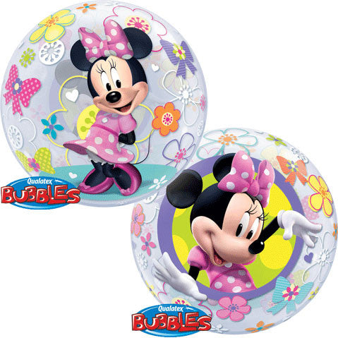 "22"" Minnie Mouse Bow-tique Bubble Balloon"