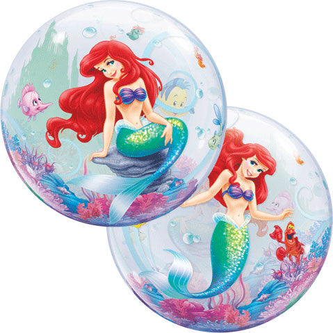 "22"" Little Mermaid Bubble Balloon"