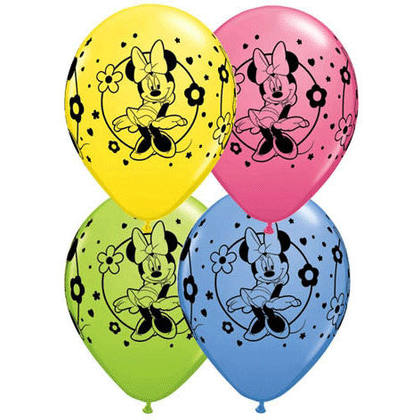 "11"" Minnie Mouse Around Balloons (25ct)"