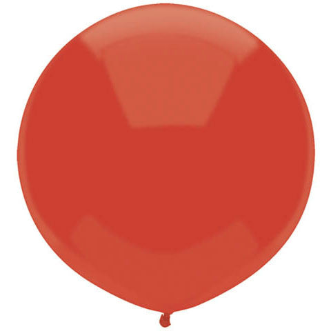 "BSA 17"" Real Red Latex Balloons (72ct)"