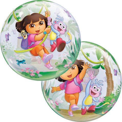 "22"" Dora The Explorer Bubble Balloon"