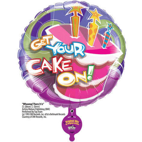 "31"" Birthday Get Your Cake On B-bop"