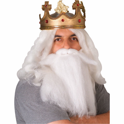 King Beard And Mustache