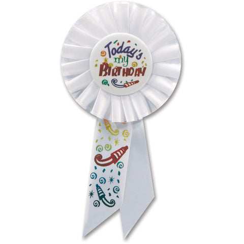 Today's My Birthday Rosette