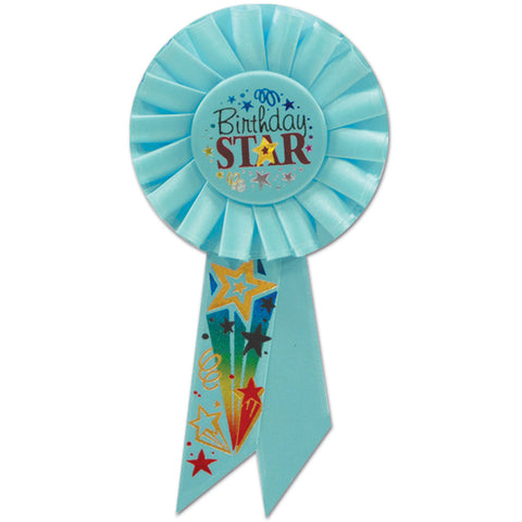 Birthday Star Rosette