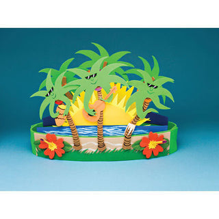 Table Deco - Cool Palms, 18