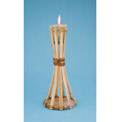 12IN. Bamboo Table Torch