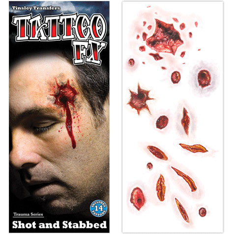 SHOT & STABBED TRAUMA FX