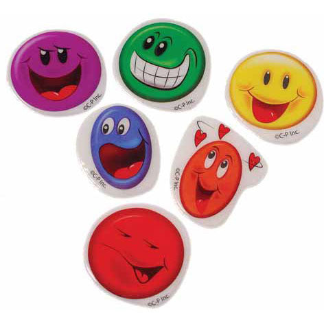 Smile Puffy Stickers