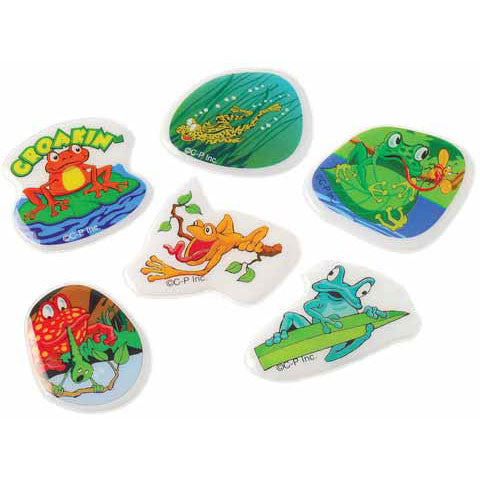 Frog Puffy Stickers
