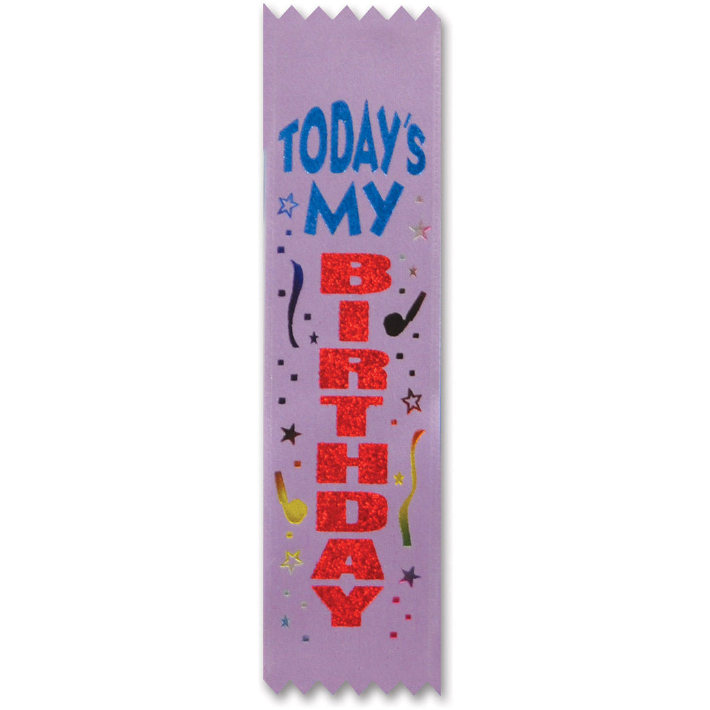 Today's My Birthday Value Pack Ribbons