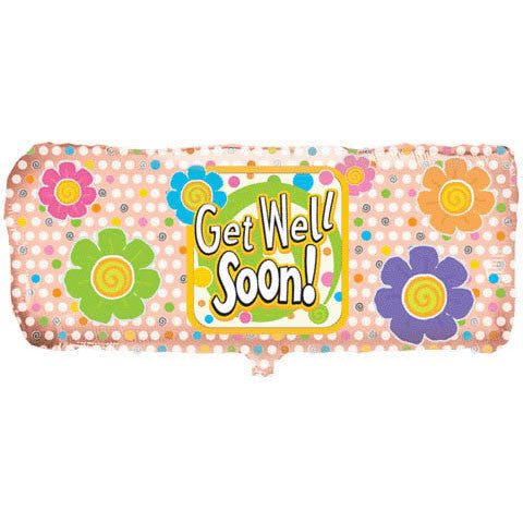 "38"" Get Well Bandaid Helium Shape"