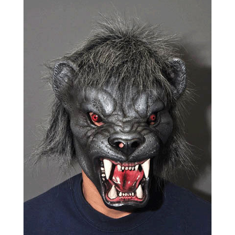 Black Panther Moving Mouth Mask