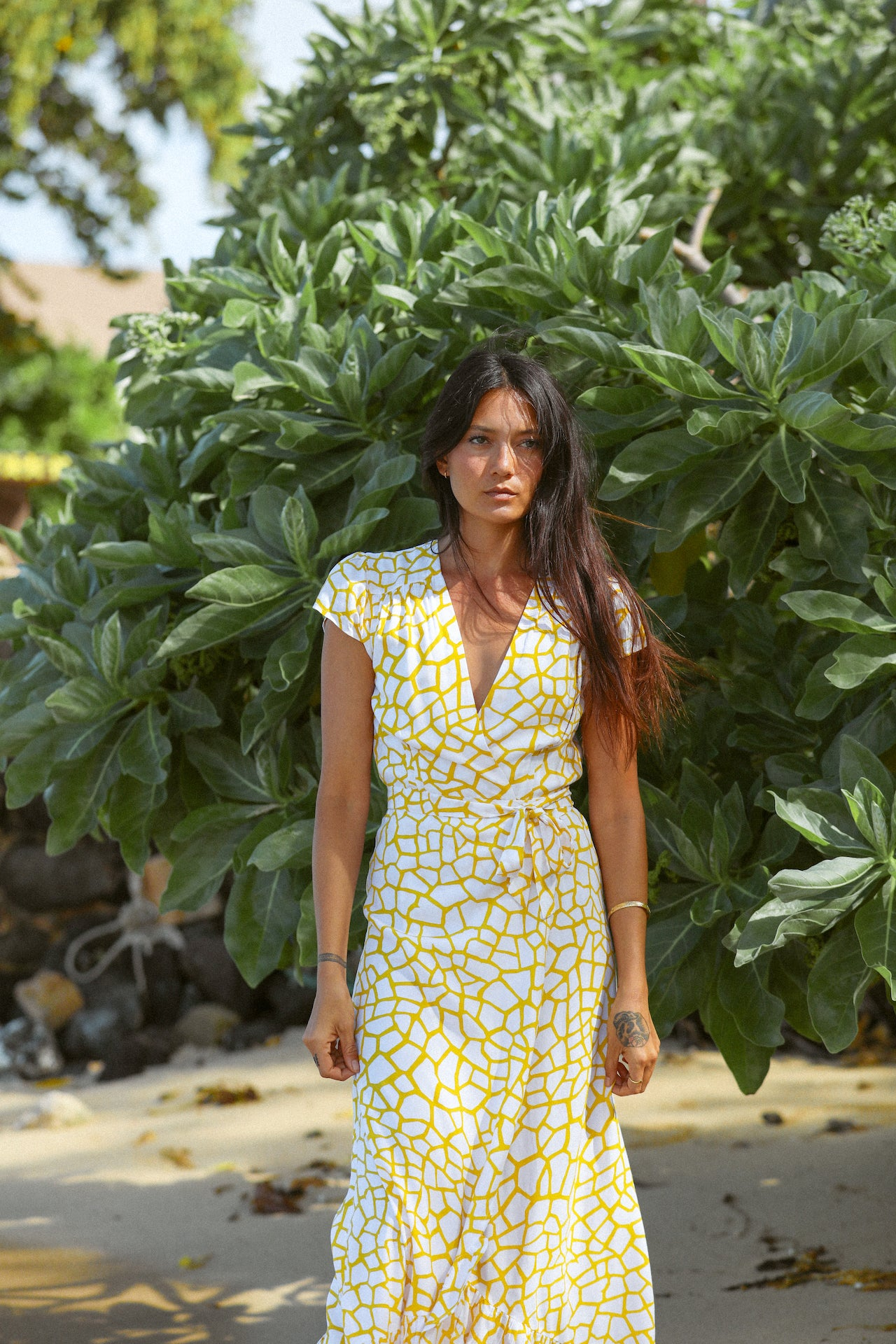 Tavarua High Neck Top