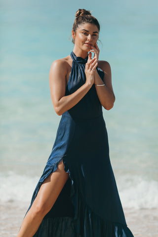 Bermuda Wrap Dress