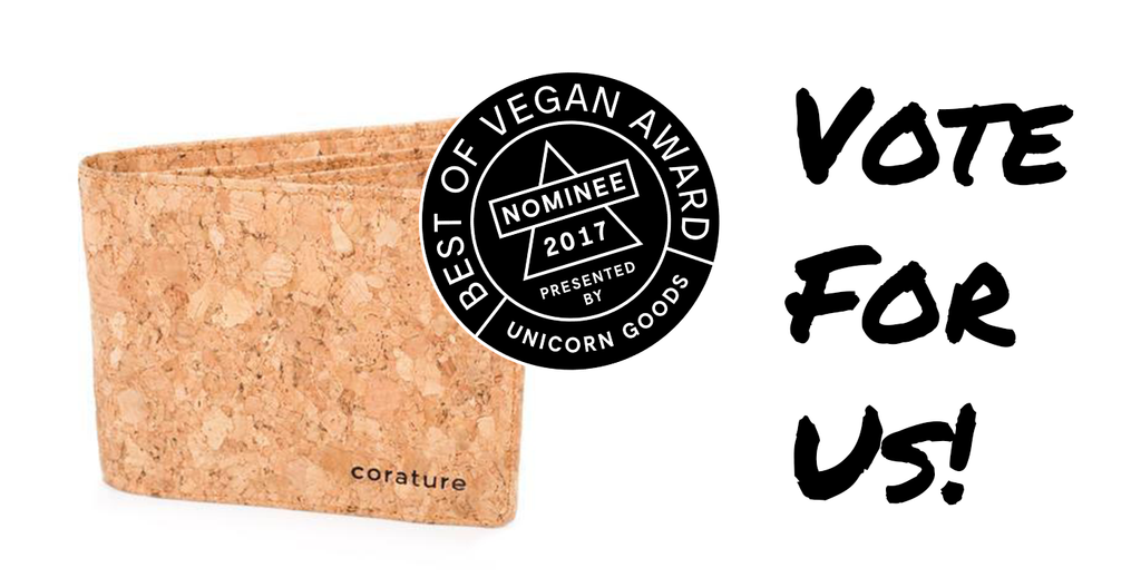 We are honored to have been nominated in this year's Best of Vegan Awards™