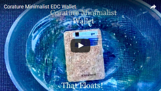 The corature minimalist wallet was put to the test in this video
