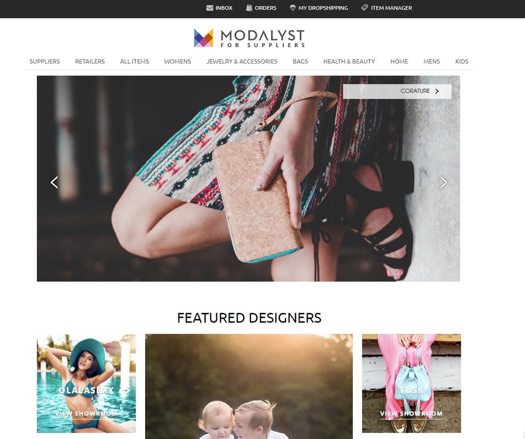 Modalyst + Corature - Featured in Front of 21,000 Retailers