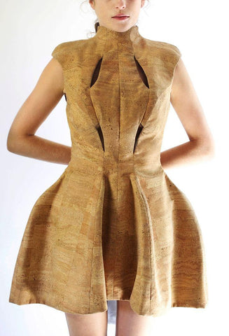 cork dress from germany