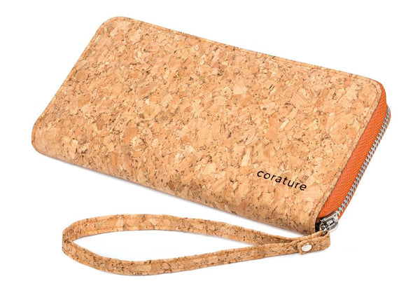 corature cork wristlet main