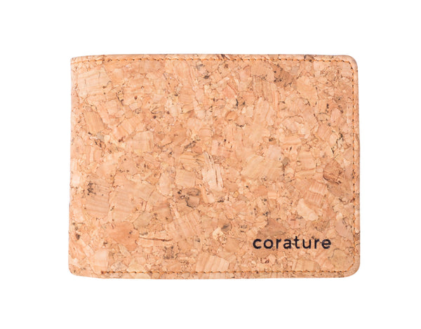 Slim 6 Slot Cork BiFold Wallet